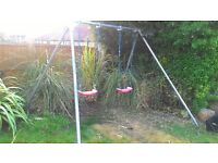 Kids garden swings (now dismantled)