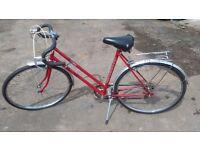 Immaculate ladies vintage Bicycle