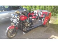 Reliant Trike MOT'd on the road