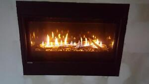 Linear gas fireplace SALE!