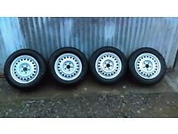 Like New Ford Rims Wheels tyres from transit connect 15""
