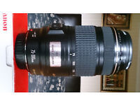 Canon EF 75-300mm f/4-5.6 IS USM Zoom Lens Image Stabilisation Ultrasonic