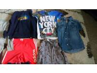 Boys clothes bundle age 7 to 8 years
