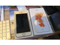 iPhone 6S Rose Gold, Brand New, with Box, Charger & Headphones & FREE Case