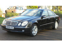 2005 MERCEDES-BENZ E CLASS 2.7 E270 CDI ELEGANCE AUTO DIESEL *2 YEARS WARRANTY*FINANCE AVAILABLE