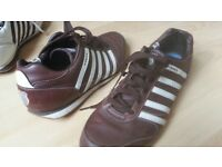 size 11 K-Swiss Trainers, brown
