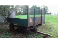 Tractor 3 ton Tipping Trailer