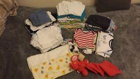 0-3 size baby boy clothes bundle over 50pcs (Nr1)