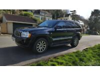 Jeep Grand Cherokee Overland 2008 Auto - 12 months MOT, re-mapped, lots of extras