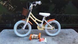 NEW Elswick Freedom 14-Inch Girls Bike RRP £120