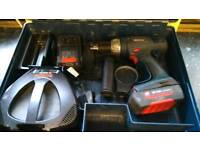 Bosch drill 36v li-on battery like new icase! good used condition!Can deliver or post!