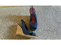 Brand new wedges size 4