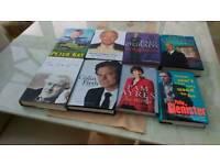 Books autobiographies hardback