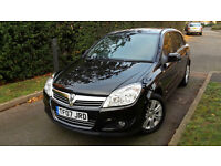 2007 VAUXHALL ASTRA 5 DOOR 1.6 PETROL,HALF LEATHER,LOW MILEAGE,FULL SERVICE HISTORY,EXELENT COND.