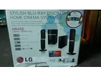 LG Blu-Ray Disk / DVD Home Cinema System