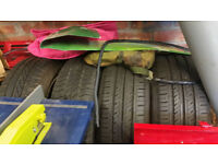 4 4x100 Alloy Wheels and Tyres