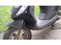Piaggio 50cc 4 stroke 09