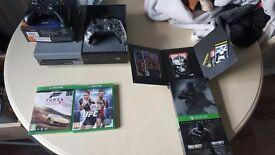 Xbox one 1 tb andvanced warfare edition