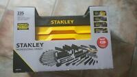 235 pcs stanley tool kit. new in box $250 obo