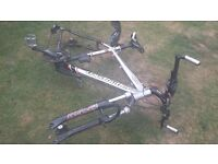 Claud Butler 'ALPINA' Mountain Bike Frame- Hand-Built in UK - (WITHOUT WHEELS)