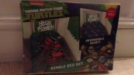 Teenage Ninja Turtles single bed duvet set