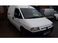 Peugeot, EXPERT, Panel Van, 2002, Manual, 1868 (cc) transit/berlingo/connect/astra/combo/vauxhall