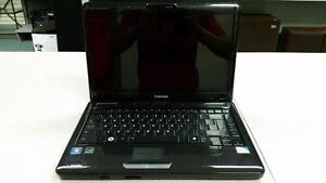 "14"" Toshiba Satellite Intel Windows 7 Laptop"