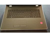 HP Laptop 17-ak0xx Colour Gold / Black