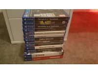 PS4 500gb white plus 14 games and controller
