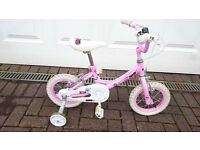 "Girls 12"" Bike with Camcorder for Helmet"
