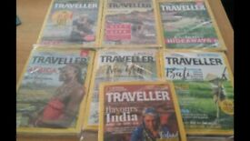 10 National Geographic Traveller magazines. Brand new