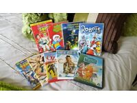 BUNDLE OF MIXED CHILDREN FILMS DVDS X 9 UNISEX