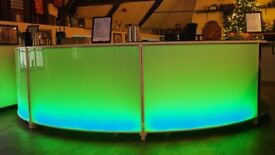 8m Circle Mobile Bar - LED Lights