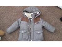 Baby boy winter jacket 12-18m