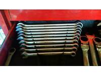 Snap on bluepoint spanners