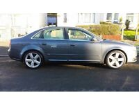 2006- Audi A4 2.0TDI S LINE- 2 Owners- 6 Speed- NEW SHAPE
