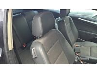 vauxhall astra h 3 door 05 -07 half leather interior