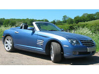 Chrysler Crossfire 3.2 V6 Roadster - 6 speed Manual, Blue