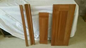 Walnut kitchen doors