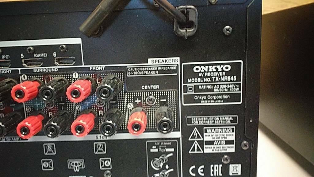 Onkyo Receiver TX NR545 | in Heathrow, London | Gumtree