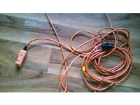 FLYMO LAWNMOWER CABLE POWER ELECTRICAL CORD