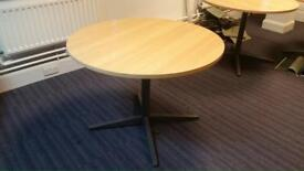 Meeting conference Round tables in different sizes from £30 each.