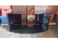 TechLink Glass TV Stand