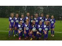 U15s girls football