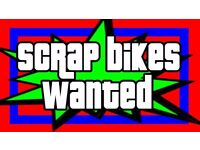 SCRAP / UN USED BIKES WANTED FOR FREE - MOUNTAIN BIKE - BMX - ETC