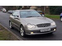 MERCEDES CLK 2,7 CDI AUTOMATIC MOT TILL END OF OCTOBER 2017 EXCELLENT RUNNER!!! VERY GOOD CONDITION!