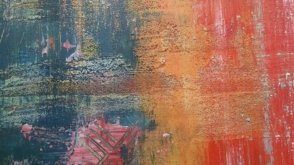 original bild kunst gem lde leinwand malerei xxl abstrakt acryl 120 x 80 cm eur 130 00. Black Bedroom Furniture Sets. Home Design Ideas
