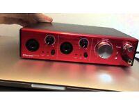 Focusrite Clarett 2Pre Thunderbolt + Cable