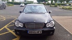 ***Reduced Mercedes Benz C200 CDI Avantgarde Automatic Black £2100 ono***