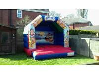BOUNCY CASTLE HIRE 12X12 PIRATE THEMED £50 FULL DAY
